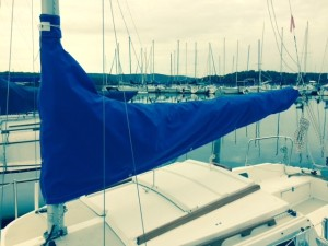Sailboat Canvas - Mainsail Cover